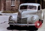 Image of Advertisement for smooth ride of 1939 Ford automobiles United States USA, 1939, second 57 stock footage video 65675051551