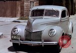 Image of Advertisement for smooth ride of 1939 Ford automobiles United States USA, 1939, second 58 stock footage video 65675051551