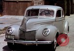 Image of Advertisement for smooth ride of 1939 Ford automobiles United States USA, 1939, second 59 stock footage video 65675051551