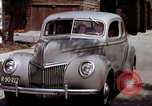 Image of Advertisement for smooth ride of 1939 Ford automobiles United States USA, 1939, second 60 stock footage video 65675051551