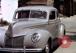 Image of Advertisement for smooth ride of 1939 Ford automobiles United States USA, 1939, second 61 stock footage video 65675051551