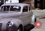 Image of Advertisement for smooth ride of 1939 Ford automobiles United States USA, 1939, second 62 stock footage video 65675051551