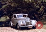 Image of People visiting a forest in their 1939 Ford car United States USA, 1939, second 47 stock footage video 65675051552
