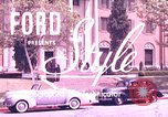 Image of Parents give daughter keys to a new Ford convertible United States USA, 1939, second 1 stock footage video 65675051553