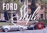 Image of Parents give daughter keys to a new Ford convertible United States USA, 1939, second 2 stock footage video 65675051553