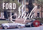 Image of Parents give daughter keys to a new Ford convertible United States USA, 1939, second 3 stock footage video 65675051553