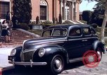 Image of Parents give daughter keys to a new Ford convertible United States USA, 1939, second 8 stock footage video 65675051553