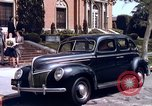 Image of Parents give daughter keys to a new Ford convertible United States USA, 1939, second 9 stock footage video 65675051553