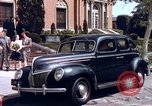 Image of Parents give daughter keys to a new Ford convertible United States USA, 1939, second 10 stock footage video 65675051553