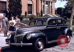Image of Parents give daughter keys to a new Ford convertible United States USA, 1939, second 11 stock footage video 65675051553