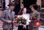 Image of Parents give daughter keys to a new Ford convertible United States USA, 1939, second 13 stock footage video 65675051553