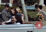 Image of Parents give daughter keys to a new Ford convertible United States USA, 1939, second 44 stock footage video 65675051553