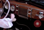 Image of Parents give daughter keys to a new Ford convertible United States USA, 1939, second 51 stock footage video 65675051553