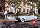 Image of Parents give daughter keys to a new Ford convertible United States USA, 1939, second 61 stock footage video 65675051553