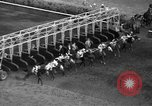 Image of horse-racing Chicago Illinois USA, 1936, second 16 stock footage video 65675051565