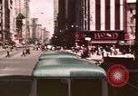 Image of vehicular traffic United States USA, 1937, second 41 stock footage video 65675051567