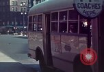Image of vehicular traffic United States USA, 1937, second 55 stock footage video 65675051567