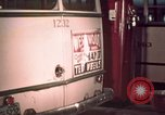 Image of buses in garage United States USA, 1937, second 51 stock footage video 65675051568