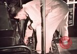 Image of buses in garage United States USA, 1937, second 57 stock footage video 65675051568