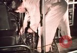 Image of buses in garage United States USA, 1937, second 60 stock footage video 65675051568