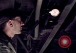 Image of buses in garage United States USA, 1937, second 34 stock footage video 65675051569