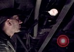 Image of buses in garage United States USA, 1937, second 38 stock footage video 65675051569