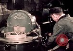 Image of buses in garage United States USA, 1937, second 50 stock footage video 65675051569