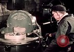 Image of buses in garage United States USA, 1937, second 51 stock footage video 65675051569