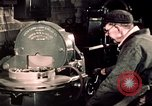 Image of buses in garage United States USA, 1937, second 55 stock footage video 65675051569
