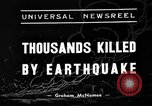 Image of Deadly earthquake strikes Chile Chile, 1939, second 3 stock footage video 65675051598