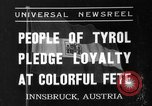 Image of Tyroleans Innsbruck Austria, 1937, second 1 stock footage video 65675051614