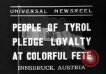Image of Tyroleans Innsbruck Austria, 1937, second 5 stock footage video 65675051614