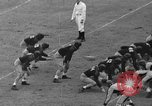Image of football match New York United States USA, 1937, second 34 stock footage video 65675051616