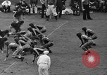 Image of football match New York United States USA, 1937, second 50 stock footage video 65675051616