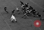Image of football match New York United States USA, 1937, second 62 stock footage video 65675051616