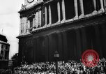 Image of VE Day in London England London England United Kingdom, 1945, second 45 stock footage video 65675051618