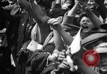 Image of VE Day in London England London England United Kingdom, 1945, second 49 stock footage video 65675051618