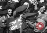 Image of VE Day in London England London England United Kingdom, 1945, second 60 stock footage video 65675051618