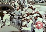 Image of Victory over Japan day Honolulu Hawaii USA, 1945, second 40 stock footage video 65675051645