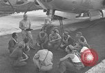 Image of B-29 Super Fortress Saipan Marianas Islands, 1945, second 2 stock footage video 65675051693