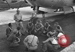 Image of B-29 Super Fortress Saipan Marianas Islands, 1945, second 6 stock footage video 65675051693
