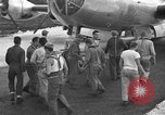 Image of B-29 Super Fortress Saipan Marianas Islands, 1945, second 9 stock footage video 65675051693