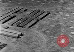 Image of Tests of incendiary bombs against wooden structures Florida United States USA, 1945, second 31 stock footage video 65675051711