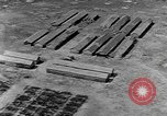 Image of Tests of incendiary bombs against wooden structures Florida United States USA, 1945, second 32 stock footage video 65675051711
