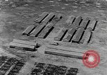 Image of Tests of incendiary bombs against wooden structures Florida United States USA, 1945, second 33 stock footage video 65675051711