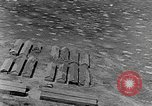 Image of Tests of incendiary bombs against wooden structures Florida United States USA, 1945, second 34 stock footage video 65675051711