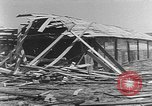 Image of Tests of incendiary bombs against wooden structures Florida United States USA, 1945, second 38 stock footage video 65675051711