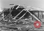 Image of Tests of incendiary bombs against wooden structures Florida United States USA, 1945, second 40 stock footage video 65675051711