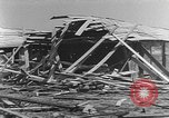 Image of Tests of incendiary bombs against wooden structures Florida United States USA, 1945, second 41 stock footage video 65675051711