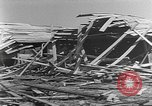 Image of Tests of incendiary bombs against wooden structures Florida United States USA, 1945, second 43 stock footage video 65675051711